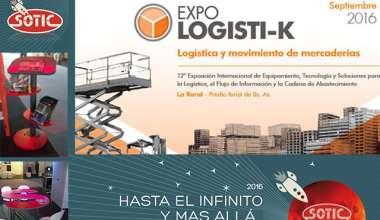 Expo Logisti-k 2016 participación SOTIC